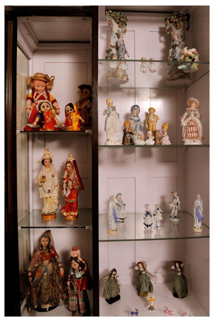 Krishna Mitra's Doll Cabinet in Kolkata