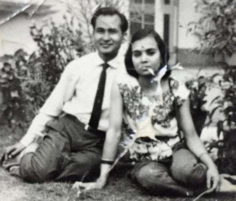 Juhi's grandparents, Vimal and Vimla Jain