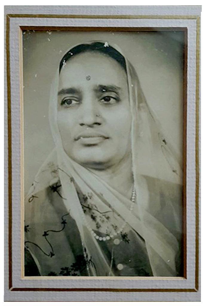 A 24-year old Tejwati Sekseria, born 31.8.1914 in Kanpur.