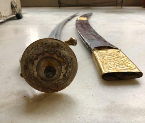 Mian Baljit Singh's sword