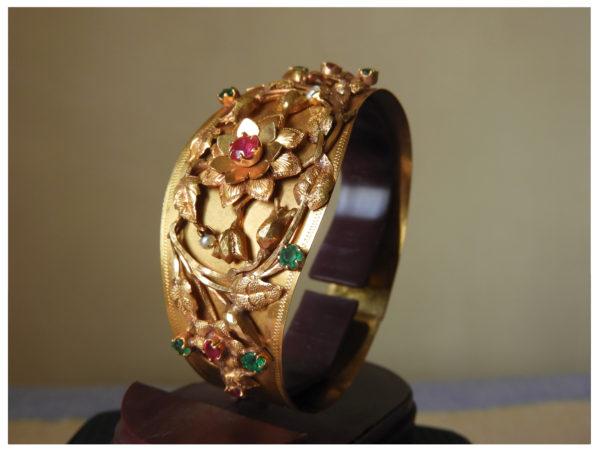 The gold bracelet which originally belonged to Snehalata Majumder
