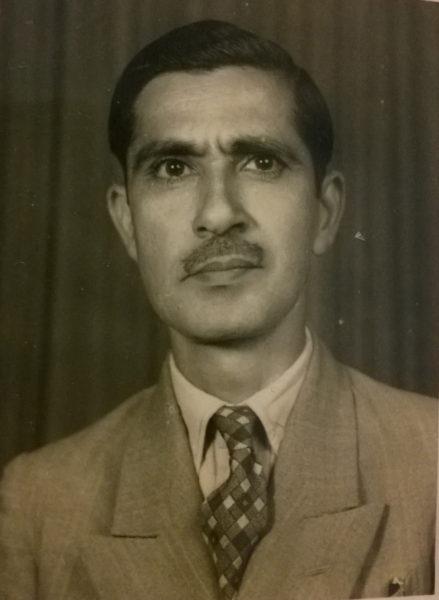 Saaed Ibrahim's father
